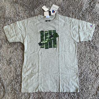 チャンピオン(Champion)のUNDEFEATED CHAMPION Tシャツ 18ss 春夏 グレー L(Tシャツ/カットソー(半袖/袖なし))