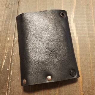 イサムカタヤマバックラッシュ(ISAMUKATAYAMA BACKLASH)のincarnation 未使用 三つ折りウォレット ホースレザー 財布(折り財布)