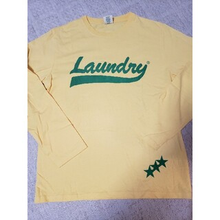 LAUNDRY - LAUNDRY 長袖Tシャツ