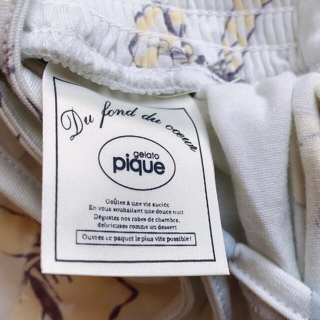 gelato pique(ジェラートピケ)のgelato piqueリボン柄マキシワンピース レディースのルームウェア/パジャマ(ルームウェア)の商品写真