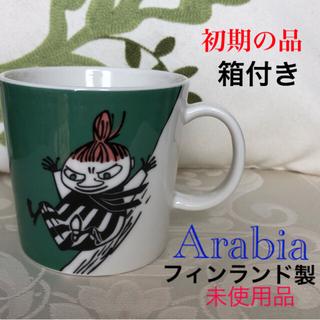 ARABIA - 【入手困難なレア品】初期アラビアムーミン 『スライディング ミイ 』マグカップ