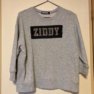 ジディー(ZIDDY)のziddy ビッグスウェット(Tシャツ/カットソー)