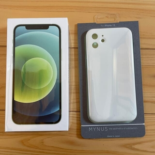 iPhone - iPhone 12 グリーン64GB simロック解除済