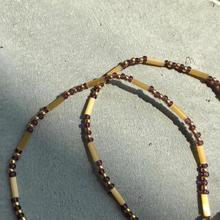 トゥデイフル(TODAYFUL)のhandmade necklace 018(ネックレス)