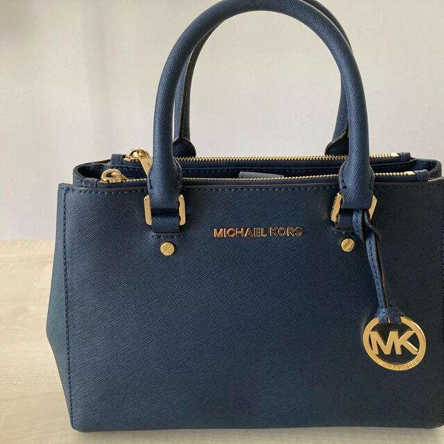 Michael Kors(マイケルコース)の【4/23まで】マイケルコース ネイビー ハンドバッグ ショルダーバッグ レディースのバッグ(ハンドバッグ)の商品写真