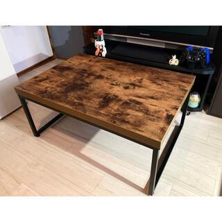 ニトリ - ニトリ ステイン ローテーブル 美品