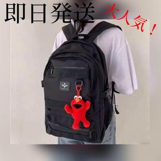 ⭐️新品未使用⭐️大容量 韓国 リュック ブラック 学生  通学バッグ