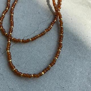 トゥデイフル(TODAYFUL)のhandmade necklace 020(ネックレス)