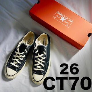 CONVERSE - 26.0cm コンバース チャックテイラー 1970S CT70 ブラック