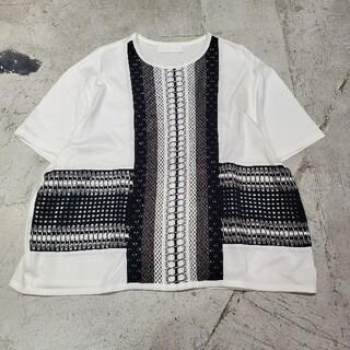 mame - mame kurogouchi マメ クロゴウチ カットソー Tシャツ 半袖