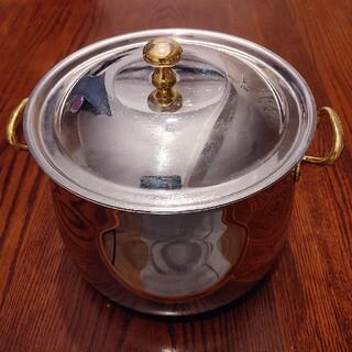 ヴェーエムエフ(WMF)のWMf  Cromargen ヴェーエムエフ 両手鍋 蓋付き(鍋/フライパン)