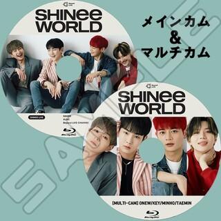 SHINee - SHINee : SHINee WORLD✨メイン&マルチカム◎Blu-ray