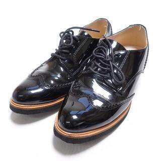 オゥバニスター(AU BANNISTER)のAU BANNISTER レースアップシューズ レディース ブラック(ローファー/革靴)