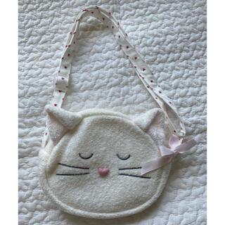 gelato pique - 【美品】ジェラートピケ 猫ちゃんショルダーバッグ