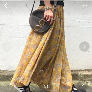 JOURNAL STANDARD - JOURNAL STANDARDのペイズリー柄スカート
