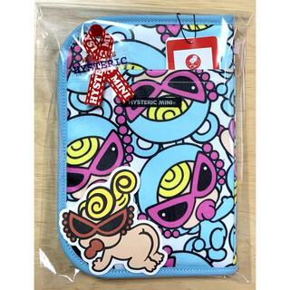 HYSTERIC MINI - ヒスミニ☆正規品☆新品☆母子手帳ケース☆L☆ブルー☆貴重品☆カード☆テディ☆⑥