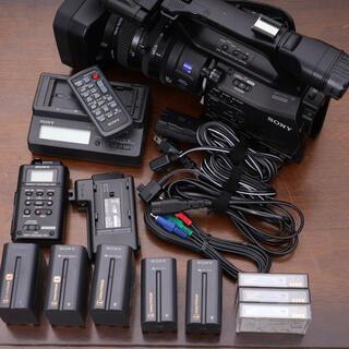 SONY - 業務用 HDVビデオカメラ HVR-Z7J+HVR-MRC1 使用可 難あり
