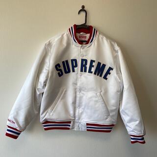 Supreme - 新品 Supreme Mitchell&Ness Satin jacket S