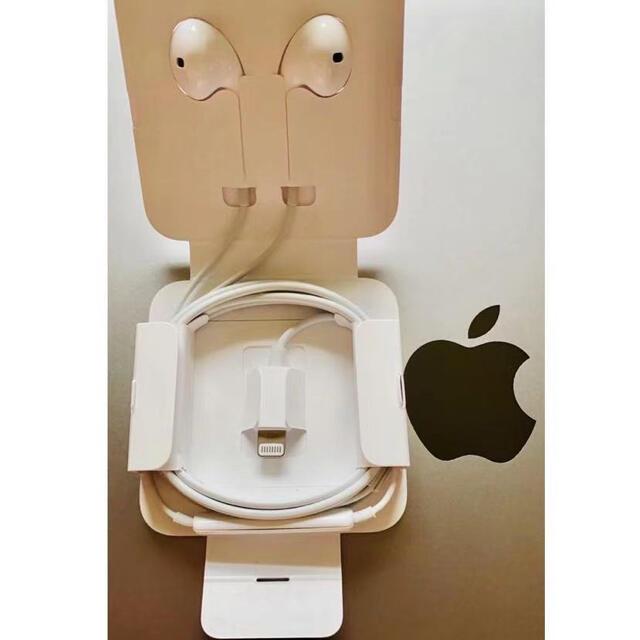 iPhone(アイフォーン)のApple純正イヤホン。 .... スマホ/家電/カメラのオーディオ機器(ヘッドフォン/イヤフォン)の商品写真