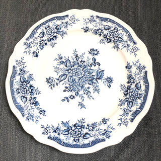 ニッコー(NIKKO)のNIKKO アンティーク 大皿 Blue Carnation Ironstone(食器)