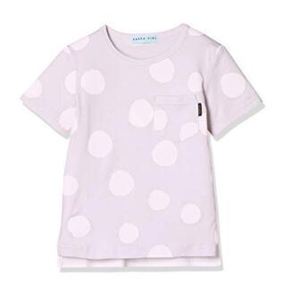 ハッカキッズ(hakka kids)のハッカキッズ ランダム ビッグ ドット プリント 半袖 Tシャツ (Tシャツ/カットソー)