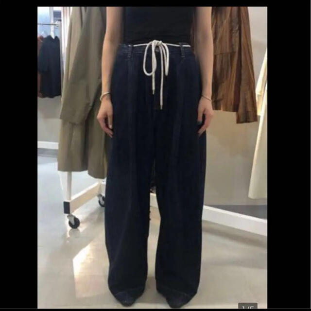 COMOLI(コモリ)のSTUDIO NICHOLSON 21ss Denim Pants メンズのパンツ(デニム/ジーンズ)の商品写真