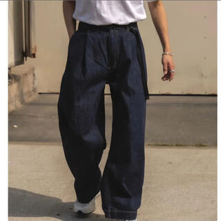 COMOLI - STUDIO NICHOLSON 21ss Denim Pants