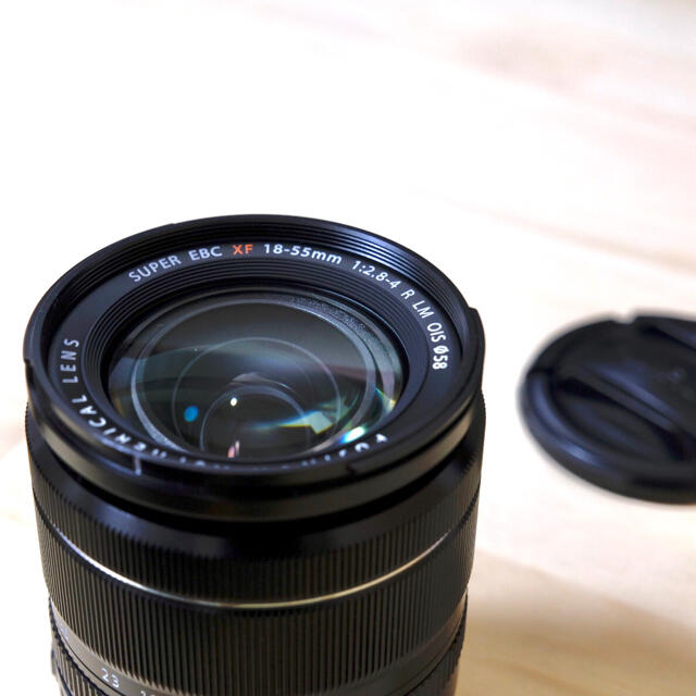富士フイルム(フジフイルム)の【値下げ不可】FUJIFILM フジノン XF18-55mm F2.8 スマホ/家電/カメラのカメラ(レンズ(ズーム))の商品写真