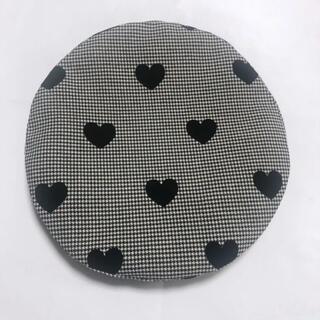 HEIHEI ハートチェックベレー帽 GRAY/グレー