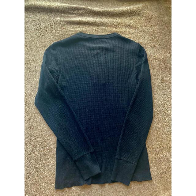 AVIREX(アヴィレックス)のAVIREX サーマル ワッフル ロングTシャツ カットソー Tシャツ メンズのトップス(Tシャツ/カットソー(七分/長袖))の商品写真