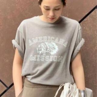 アパルトモンドゥーズィエムクラス(L'Appartement DEUXIEME CLASSE)のAP STUDIO AMERICANA 別注 インディアン Tシャツ(カットソー(半袖/袖なし))