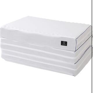 ニシカワ(西川)の東京 西川 SEVENDAYS ベッド マットレス シングル 折り畳み(マットレス)