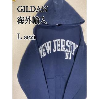ギルタン(GILDAN)のGILDAN  プルオーバー パーカー 海外輸入 古着(パーカー)