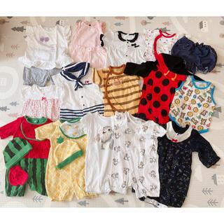 ベビーギャップ(babyGAP)の出産セット 夏服 50cm~(その他)