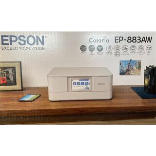 EPSON - エプソン ホームプリンター EP-883AW ☆新品・未開封☆