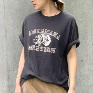 L'Appartement DEUXIEME CLASSE - AP STUDIO 【AMERICANA】別注 インディアン Tシャツ