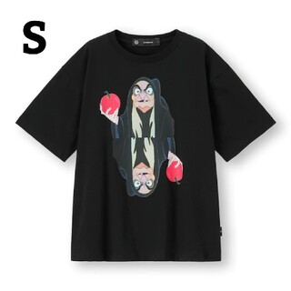 GU - GU UNDERCOVER tシャツ 白雪姫 魔女グラフィックTシャツ