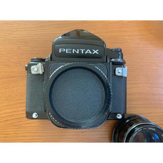Pentax 67 後期 105mm F2.4 レンズ付き 動作確認済み