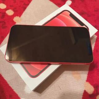 iPhone - iPhone12 mini RED 美品 説明欄参照