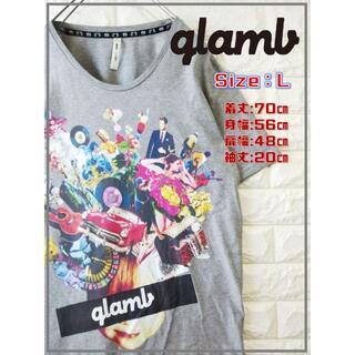 glamb - glamb グラム ビッグ デザイン Tシャツ SS1789