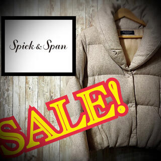 Spick and Span - 美品! ダウン spick&span スピックアンドスパン