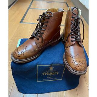 Trickers - Tricker's L5180 UK6h カントリーブーツ レザーソール