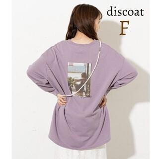 Discoat - 新品 discoat ディスコート フォトプリントバックプリント ロンT 長袖