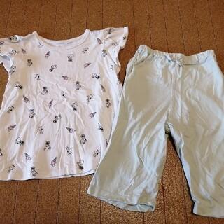 GU - スヌーピー 半袖パジャマ 130センチ