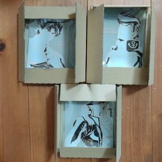 一番くじ ジョジョの奇妙な冒険 G 賞 ガラス皿 3種セット ジョジョ