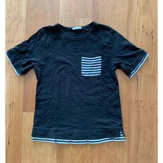 GU - 重ね着風Tシャツ 140