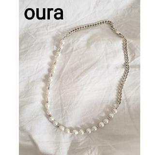 コモリ(COMOLI)のoura  Combination pearl necklace(ネックレス)