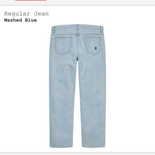 Supreme - W32 Supreme Washed Regular Jean