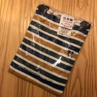 DOUBLE.B - ミキハウス ダブルB 120 日本製 長袖Tシャツ ロンT ロンティー