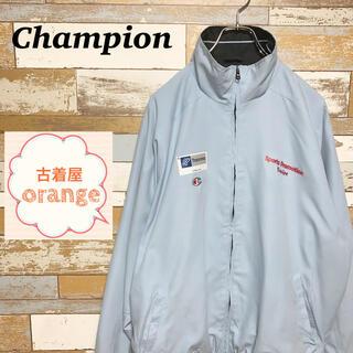 Champion - 【90s】【希少】チャンピオン ナイロンジャケット フルジップ ラグラン